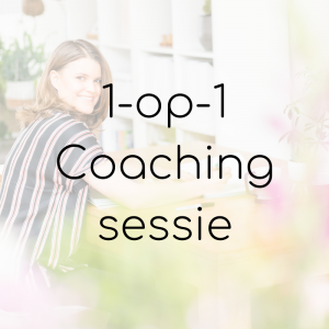 1-op-1 Coaching sessie